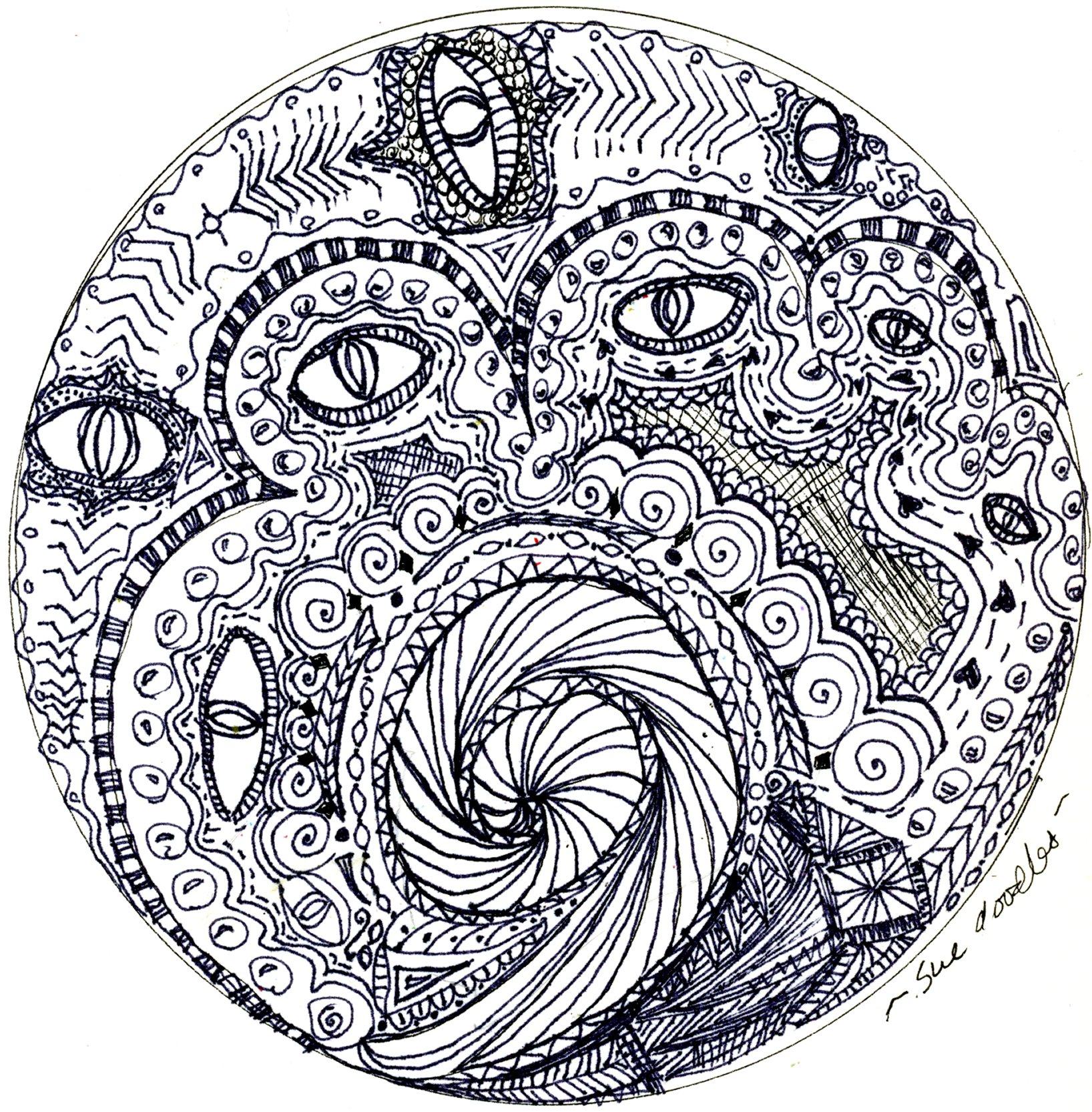 mandala sue doodles page 3