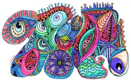 something colorful