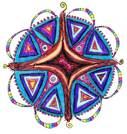 New Moon Mandala Day 11 – New Moon Mandala